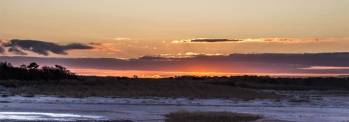 Cape Cod Events-Winter Payne's Creek Sunset