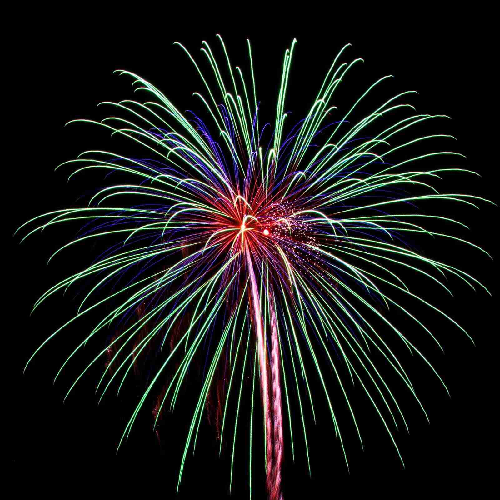 Cape Cod Fireworks - Cape Cod Events - rainbow