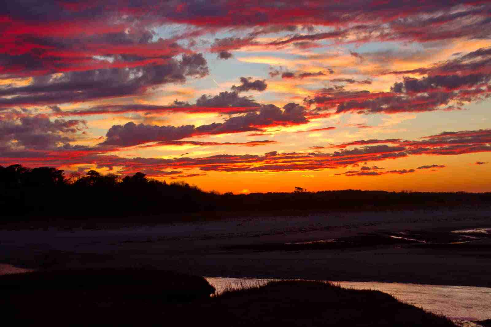 Cape Cod Star Event-Sunset Paines Creek