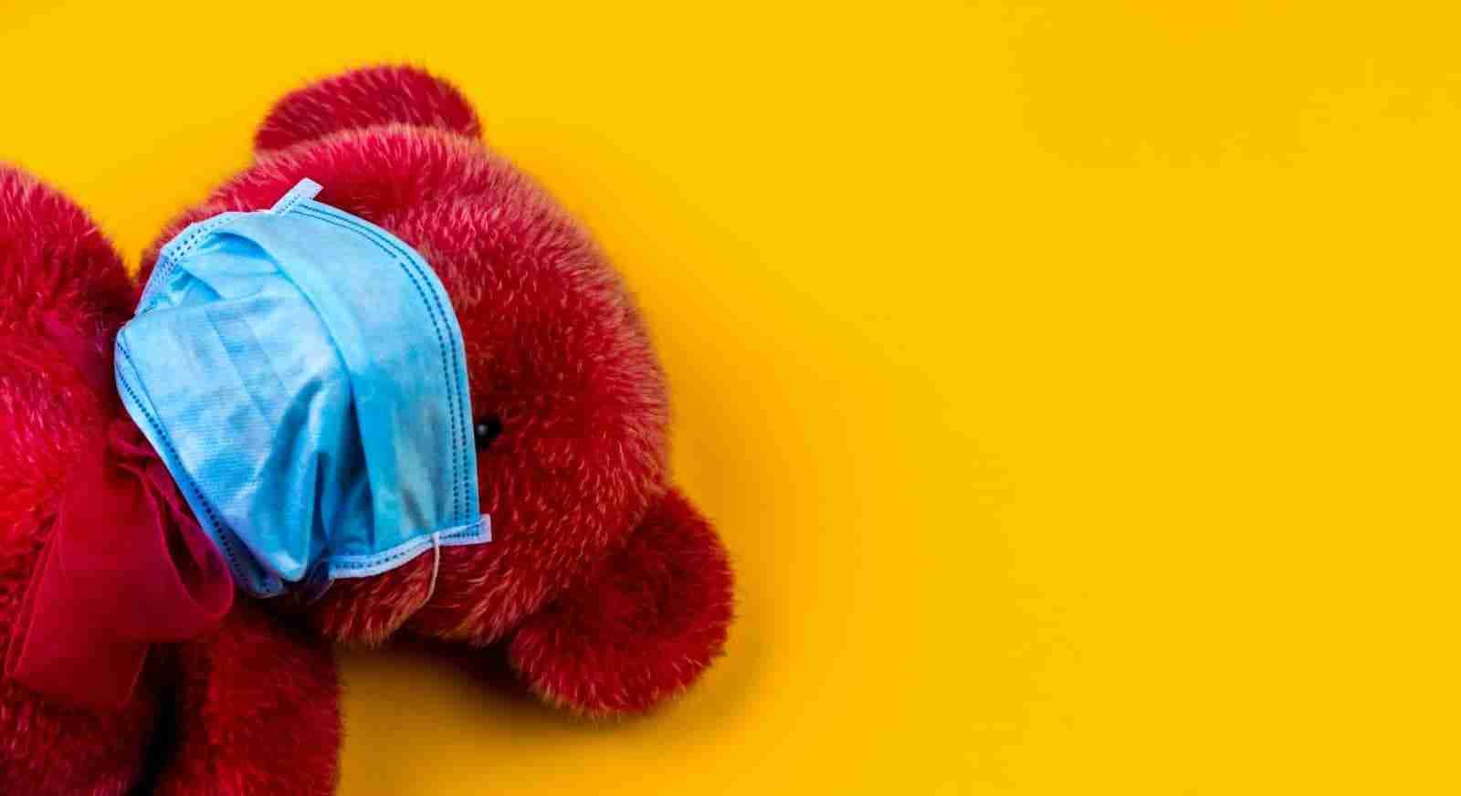 Cape Cod Coronavirus - Teddy Bear Mask volodymyr-hryshchenko-unsplash (1)