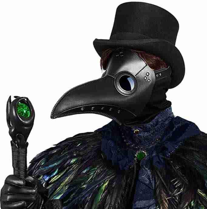 Cap;e Cod Halloween - The Plague Mask